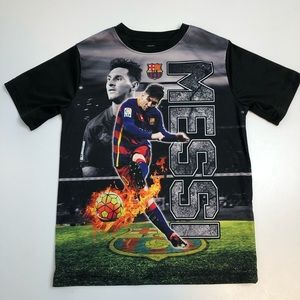 3/30$ Lionel Messi FCB Youth Shirt